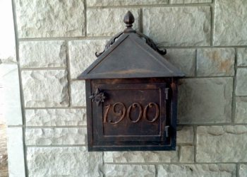 Wrought Iron Mailboxes